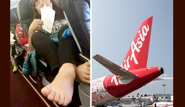 Penumpang Wanita Pesawat AirAsia Biadap Dikutuk Netizen di China