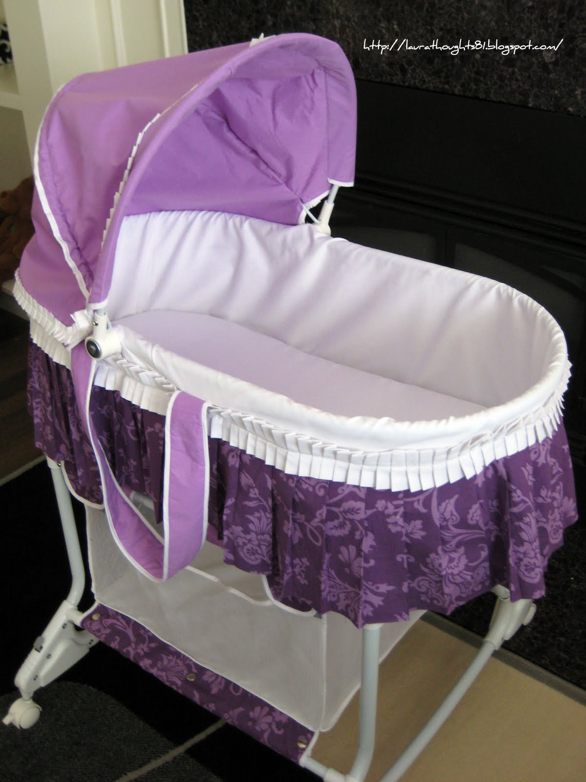 Laura thoughts february 2011 for Baby bassinet