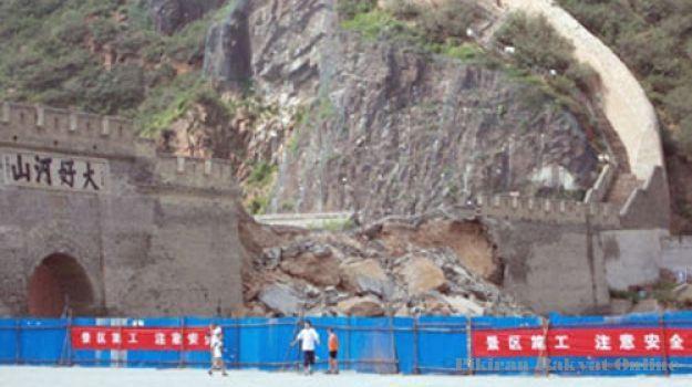 Tembok Besar China Runtuh !! [ www.BlogApaAja.com ]