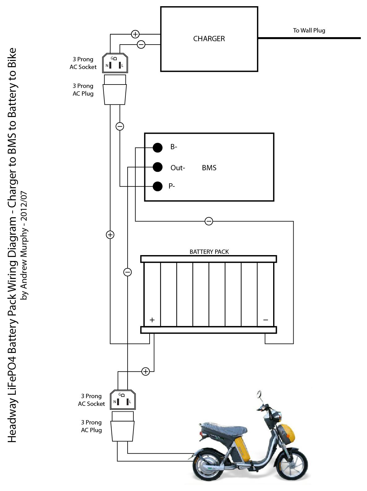 Wiring Diagram Electric Bike Circuit Of Yobike Andr01dmake Ebike Updated Battery Diagrams