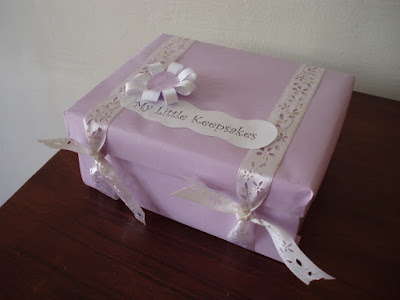 How to make a keepsakes box