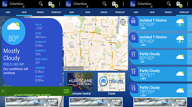 The Weather Channel-Android Weather app