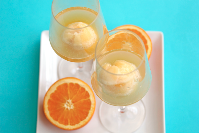 peach sherbet grapefruit and champagne sherbet recipes grapefruit ...
