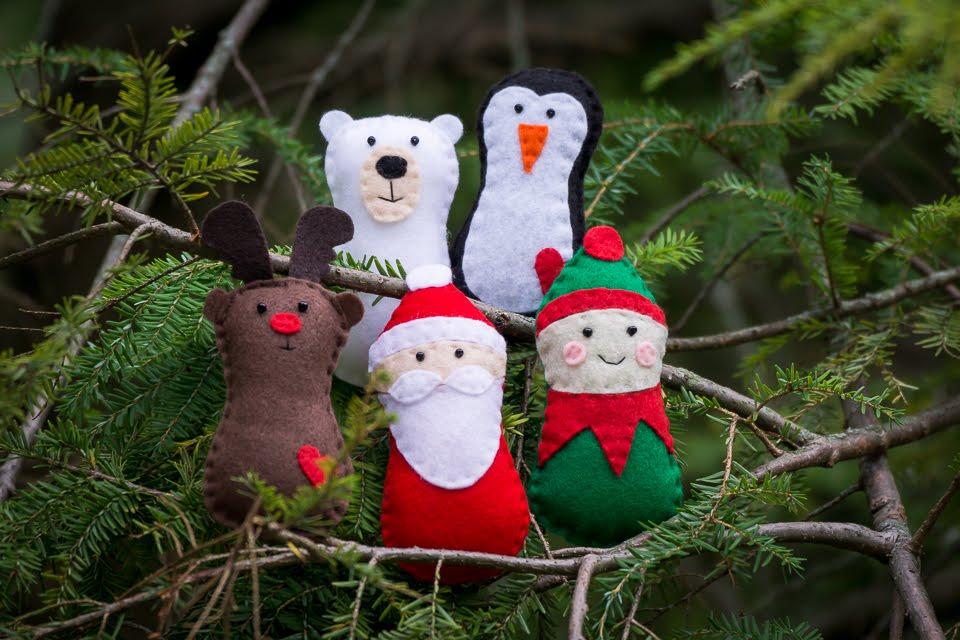 Christmas Felt Creatures