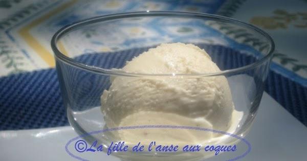 La fille de l 39 anse aux coques dulce de leche glac - Sorbetiere a manivelle ...