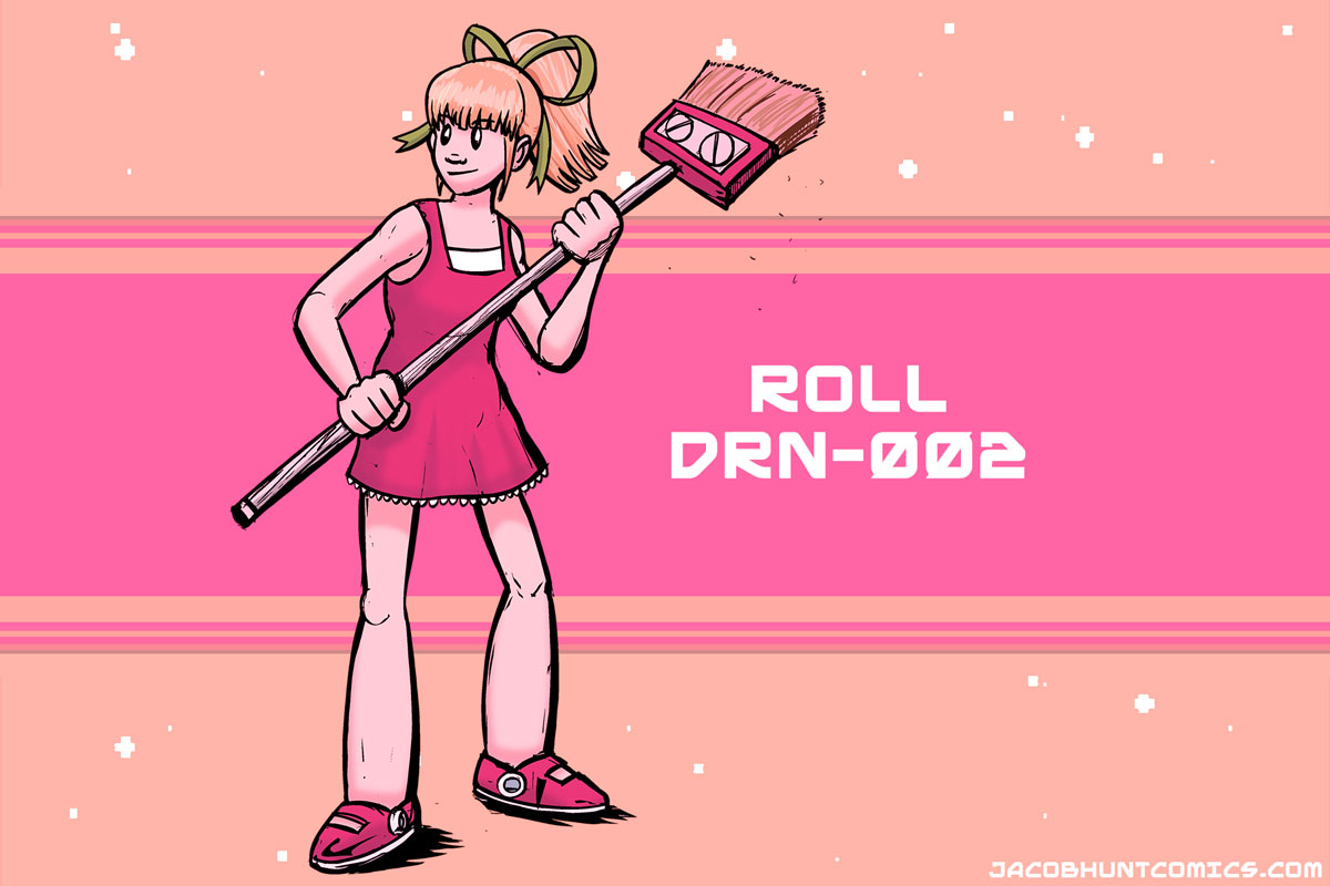Roll from Mega Man