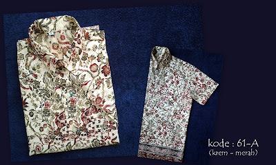 Baju Batik Pria 61A