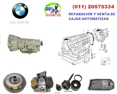 caja automática BMW 5HP18