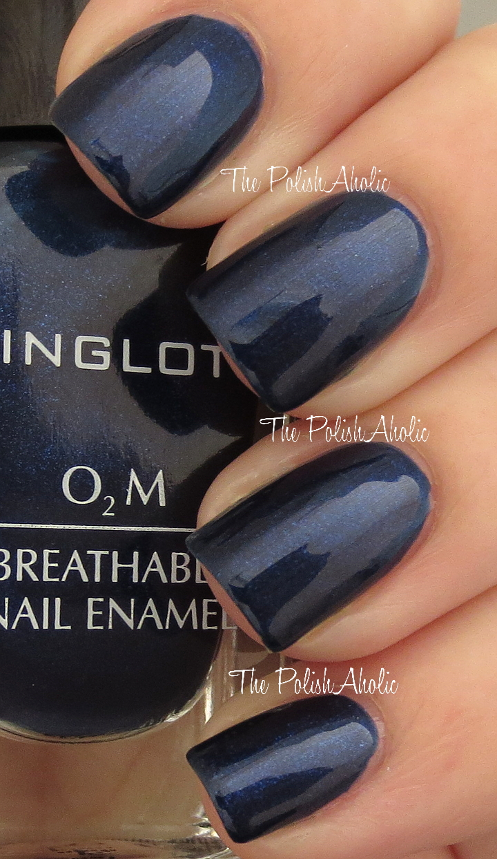 The PolishAholic: Inglot O2M Breathable Nail Enamel 664 & 664 Swatches!