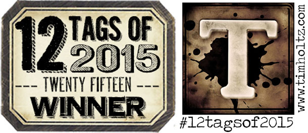So pleased to be a Winner for my October 2015 Tag!