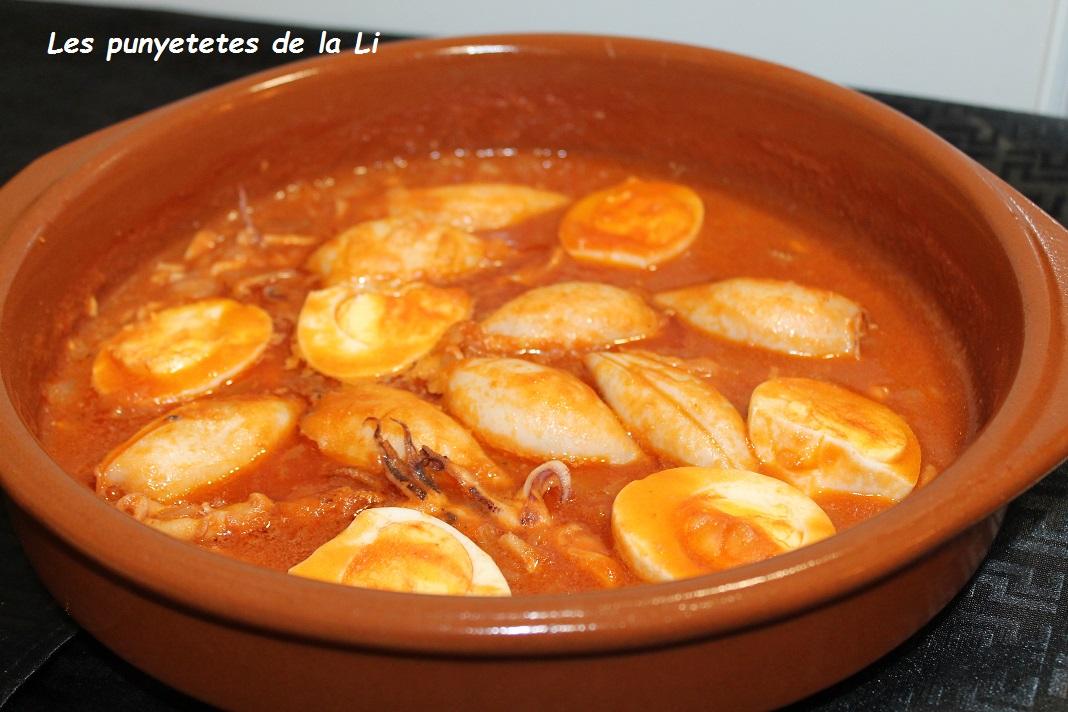 Les punyetetes de la li chipirones rellenos con salsa - Chipirones rellenos en salsa de tomate ...