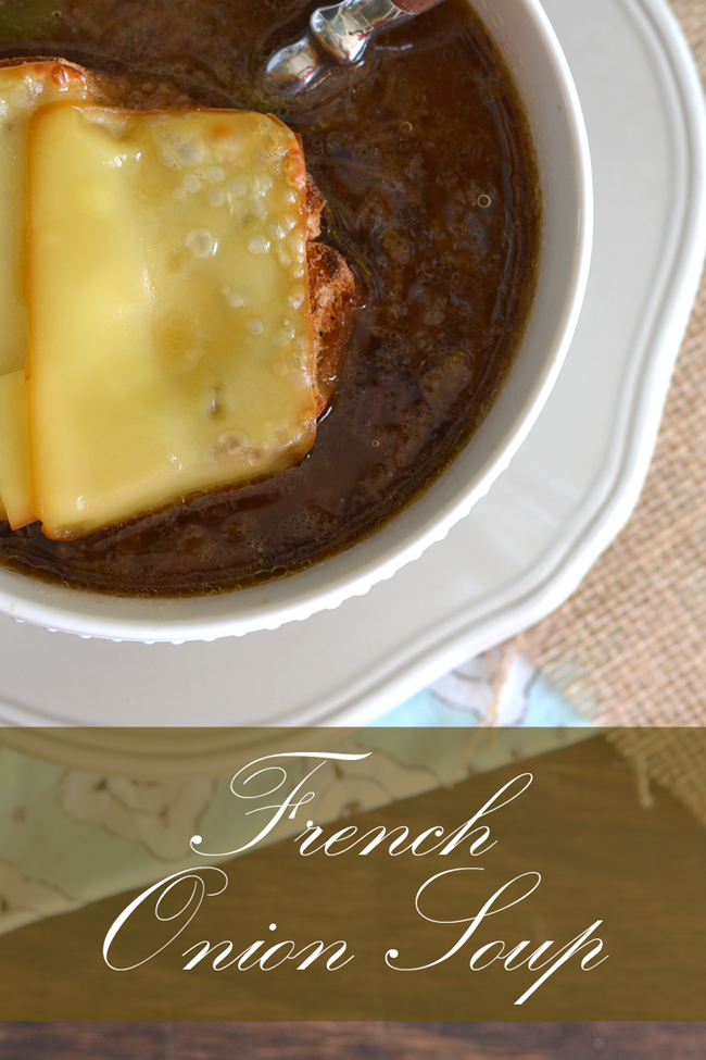 Momma's French Onion Soup Recipe