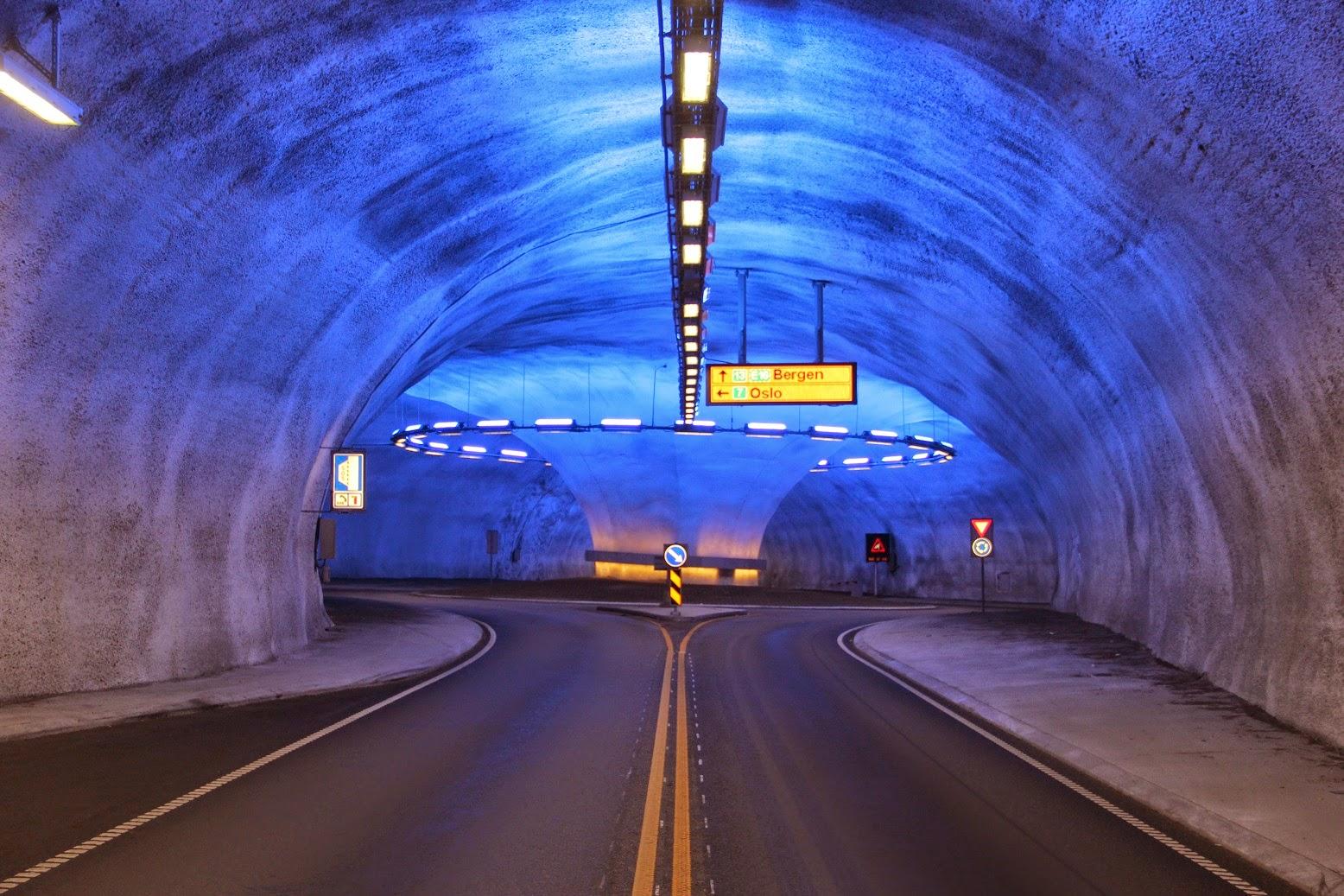 tunnel under vann norge