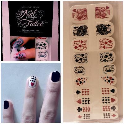 Beauty fashion and nails dashing diva nail tattoos - Diva nails and beauty ...