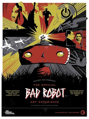 Gallery 1988 presents The Bad Robot Art Experience