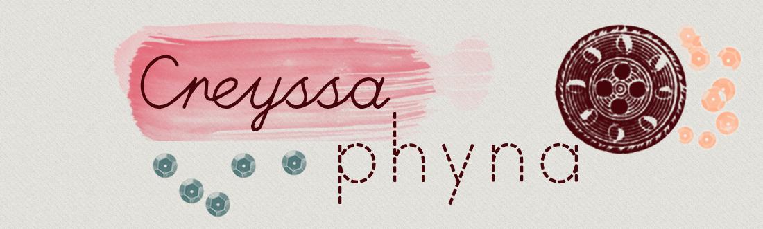 Creyssa Phyna - Glamour, ruivice e sacolagem