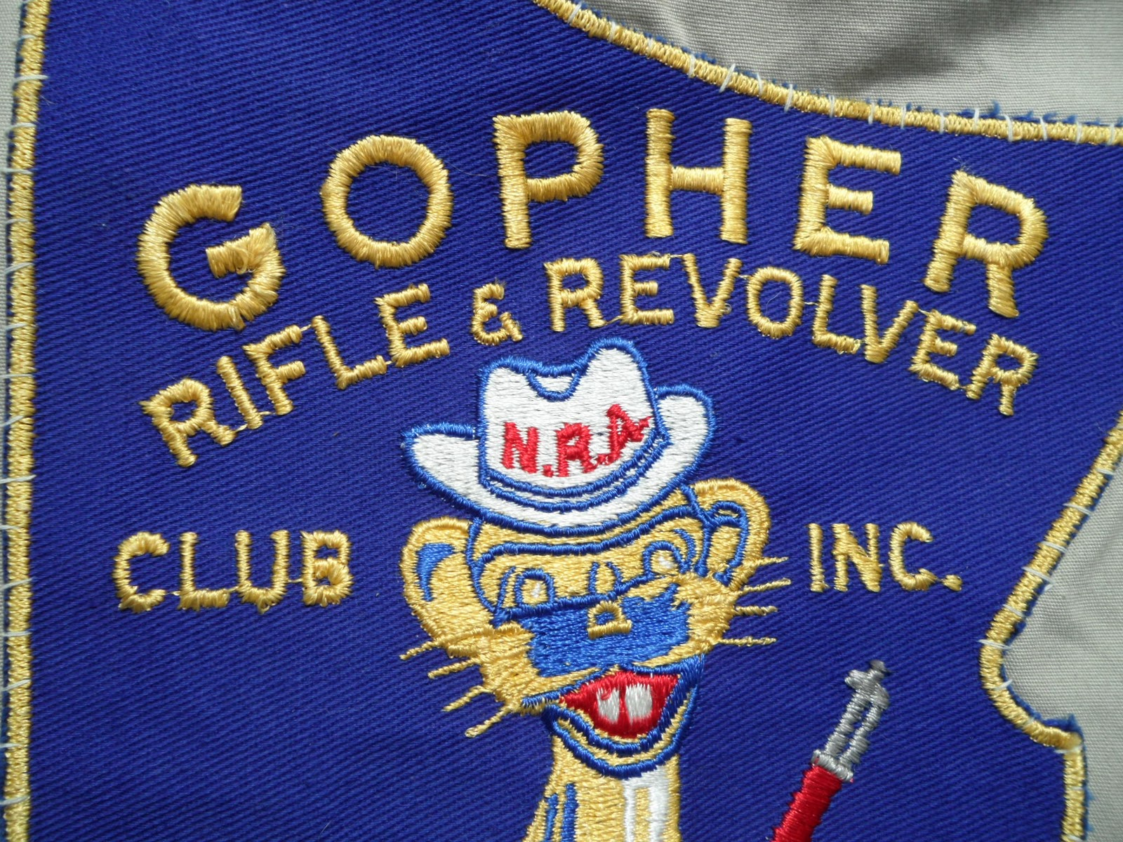 darn tootin shootin gopher with rifle