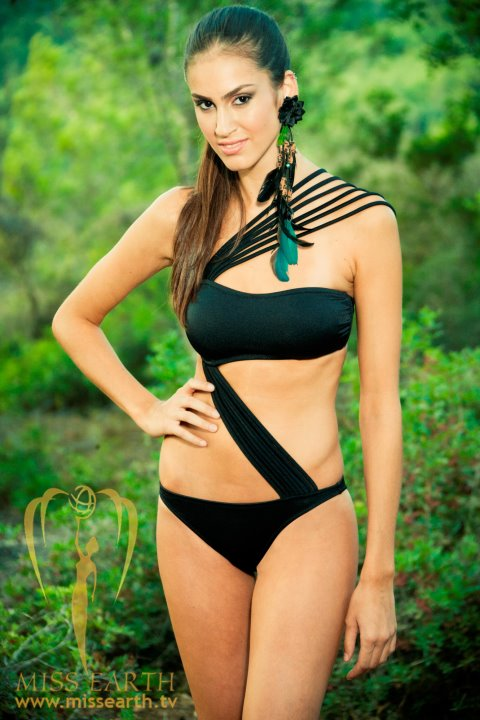 huda naccache,miss earth israel 2011