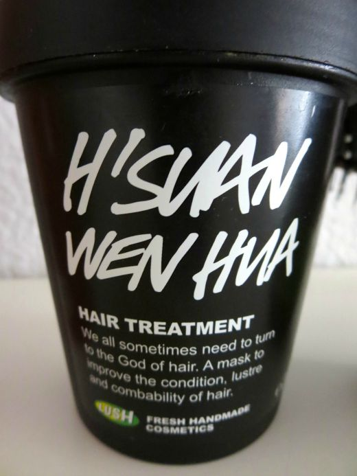 H'suan Wen Hua hair treatment by Lush