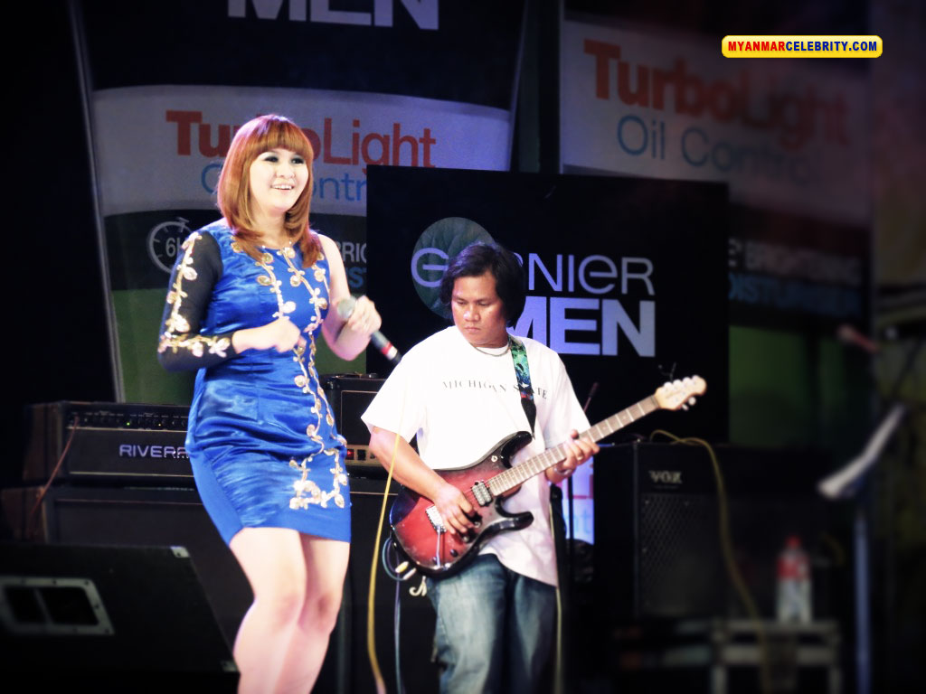Jenny's Fashion @ Garnier Music Night Concert | Myanmar Singer and