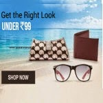 Shopclues: Buy Fashion Accessories Rs. 99 or Below and 5% off from Rs. 37