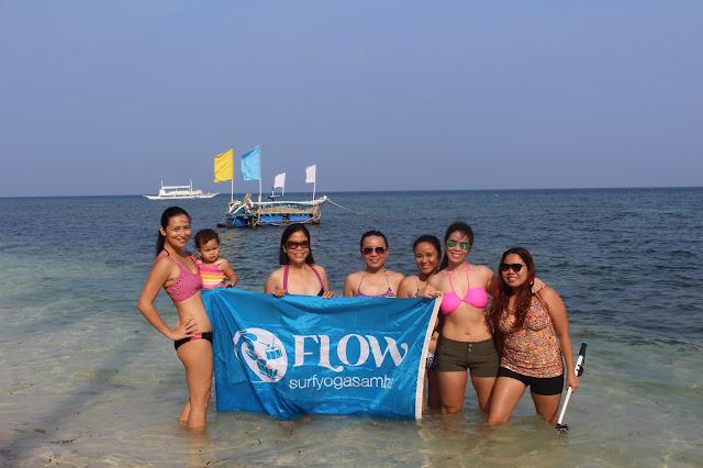 the flow surf yoga samba team