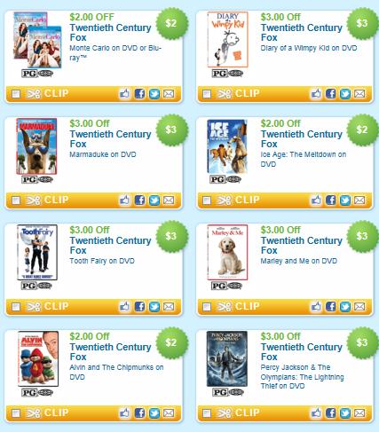 New DVD & Blu-Ray Printable Coupons - FTM