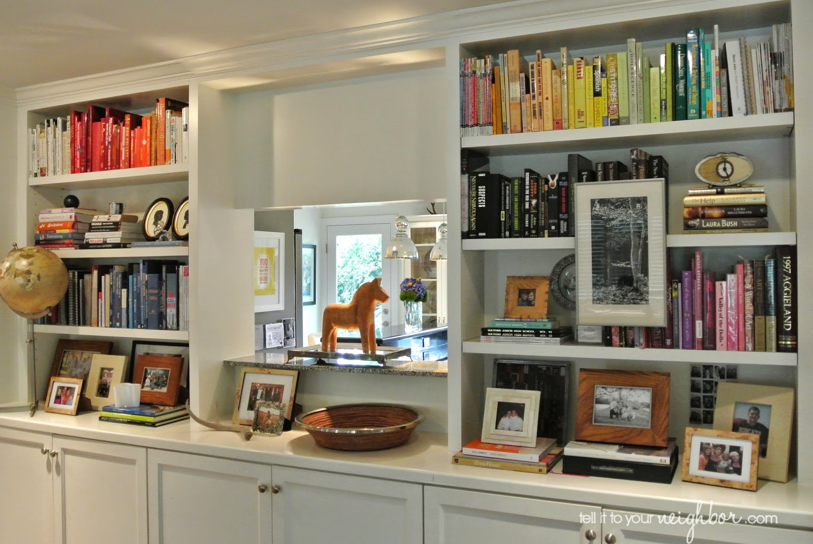 bookcase styling - Styling Bookcases