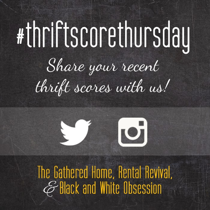 #thriftscorethursday Week 9 | Trisha from Black and White Obsession, Brynne's from The Gathered Home, and Megan from Rental Revival