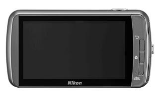 Kamera Nikon Coolpix S800c depan