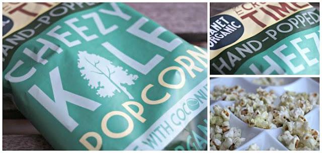 Cheezy Kale Popcorn von Planet Organic
