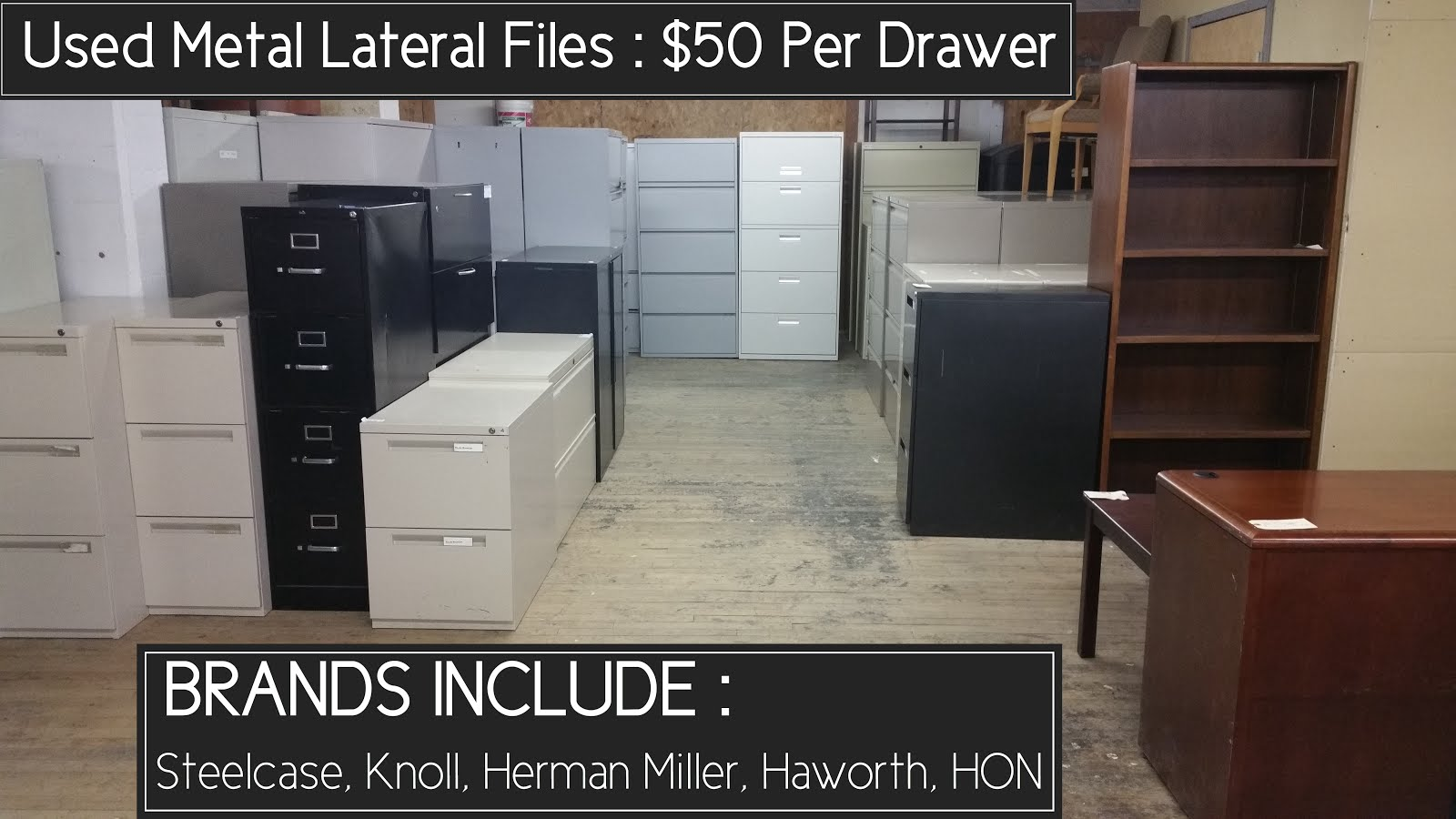 FILE CABINET SHOWROOM :