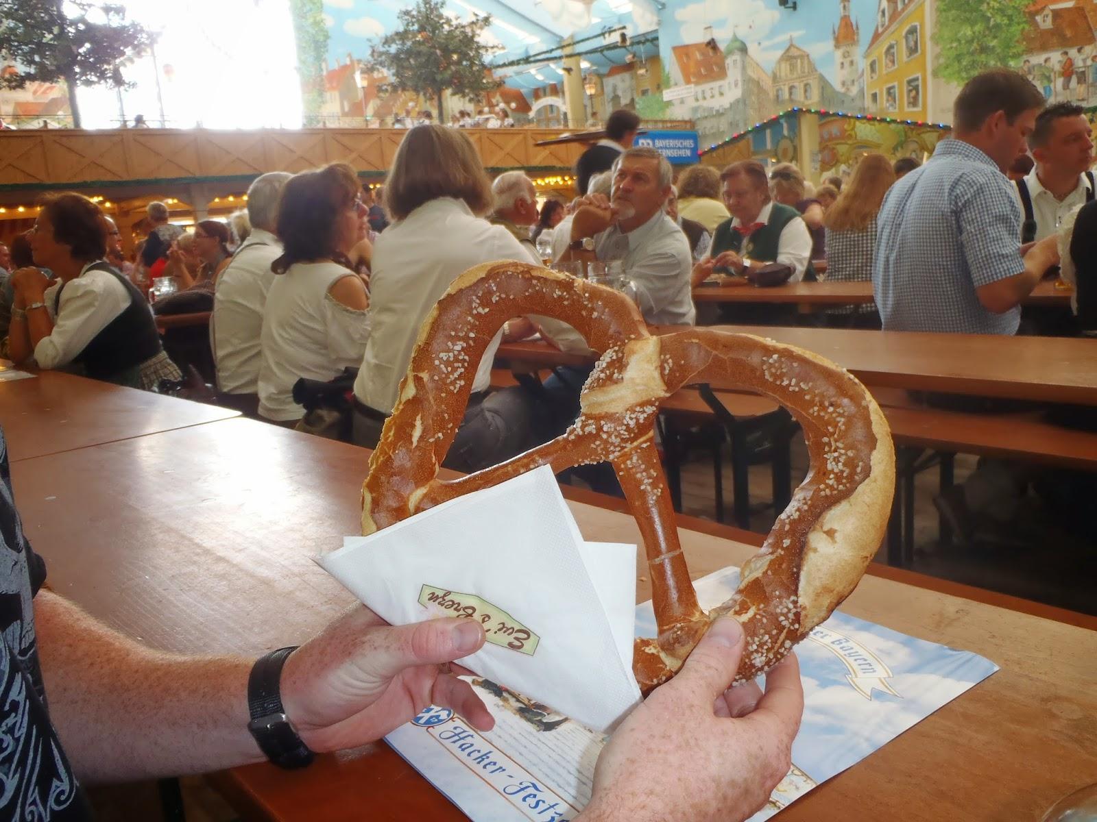 Oktoberfest pretzel