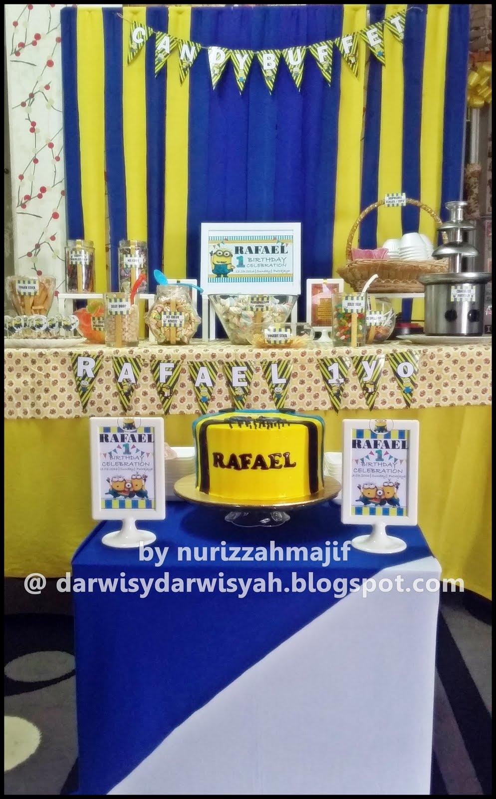 Birthday Celebration Rafael 1y | 13/3/2016 @ Presint 16, Putrajaya
