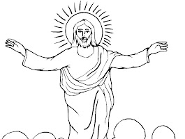 Easter Cross Coloring Pages Free