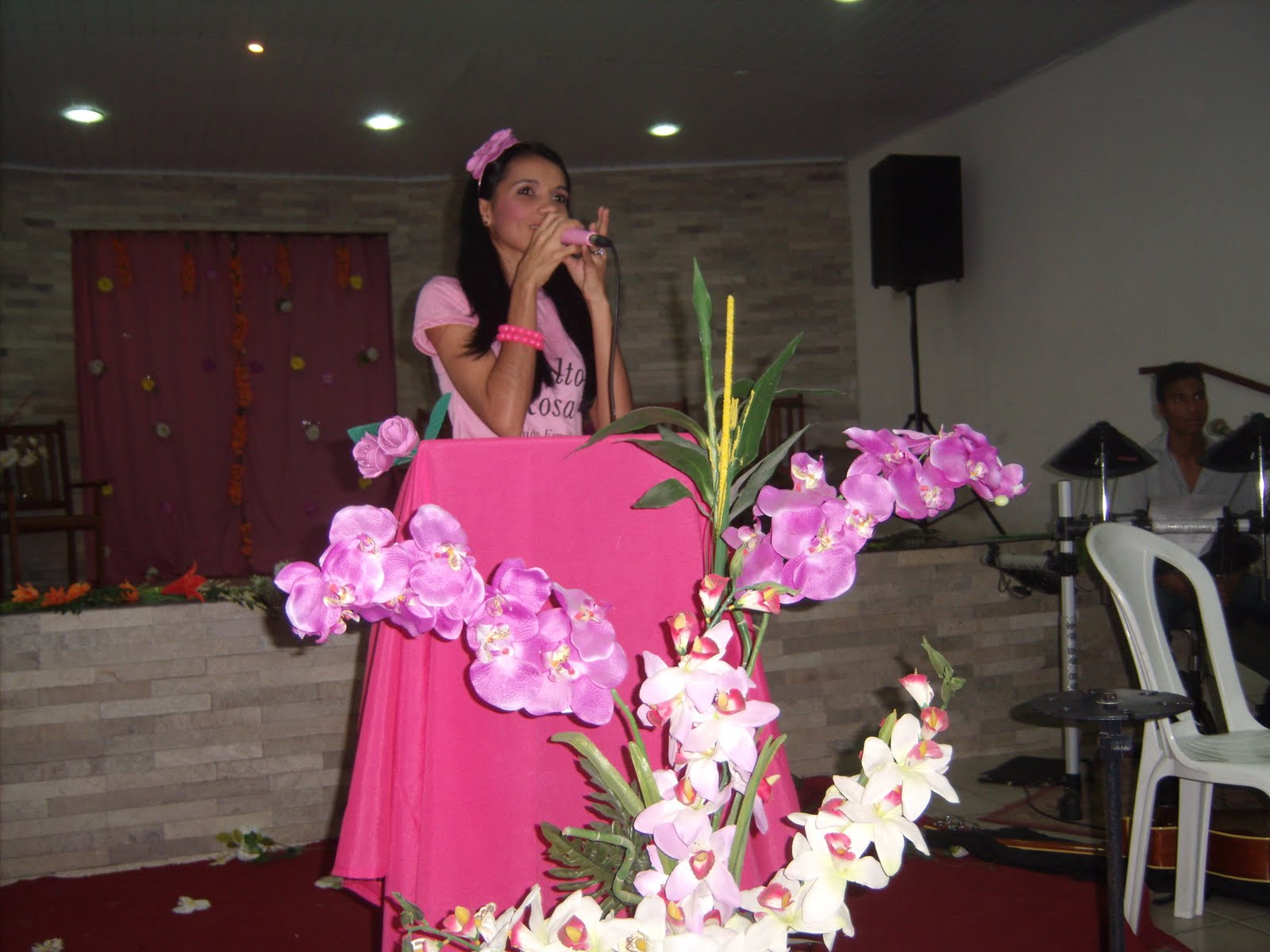 rosas no jardim de deus:UNIÃO FEMININA: Terceiro Culto Rosa Somos flores do jardim do Senhor