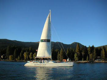 SIERRA CLOUD CATAMARAN - GO FOR A BOAT RIDE