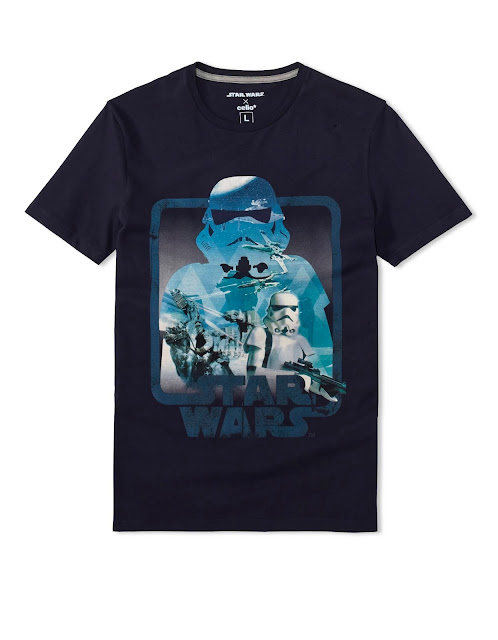 celio t-shirt star wars clone stormtrooper