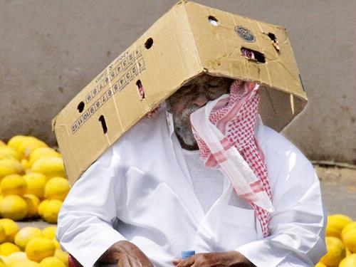 Suhu di Arab Saudi Mencapai 50 Derajat Celcius
