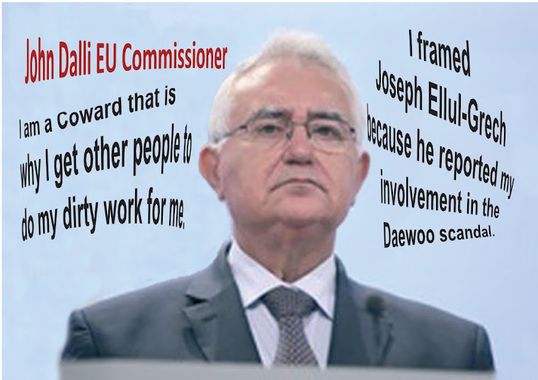Commissioner John Dalli A Coward