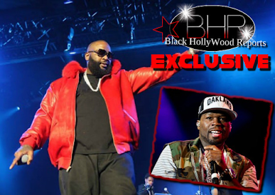 "Rapper 50 Cent Speaks On MMG Rick Ross ""Black Market"" Album Sales"
