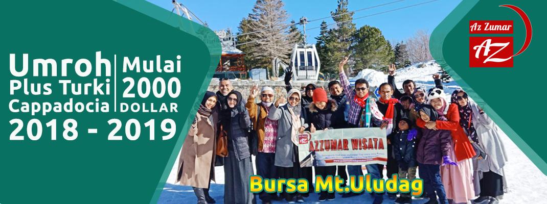 "Umroh Plus Turki Cappadocia ""Terbaik!"" | Azzumar Wisata"