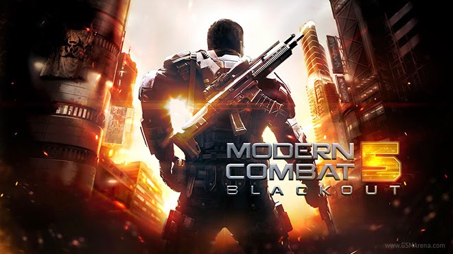 Download Modern Combat 5 : Blackout APK + DATA Full Version | IFAN BLOG
