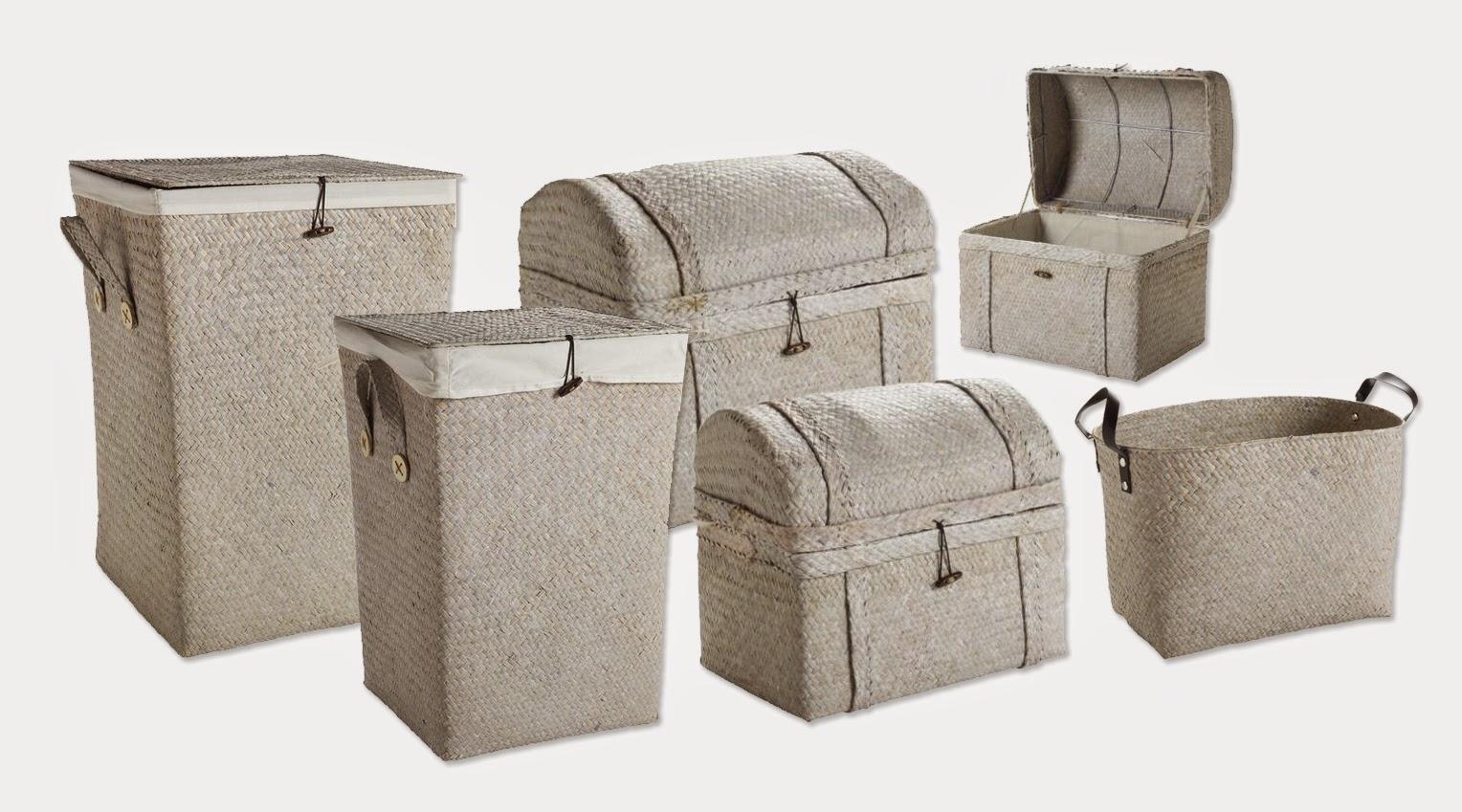 Cosas de casa decorar con cestos de mimbre for Cosas de casa online