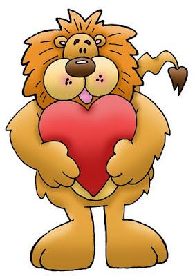 león con corazón