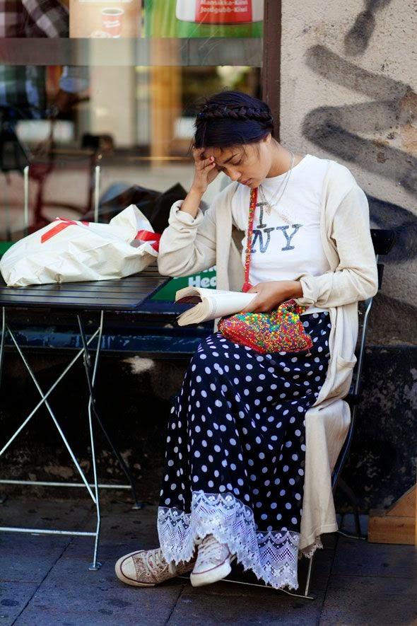 dot_skirt_street_style