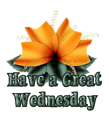 have great Wednesday