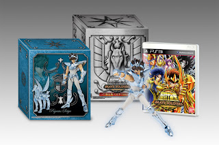 saint seiya brave soldiers limited edition japan Japan   Saint Seiya: Brave Soldiers (PS3)   TV Commercial & Limited Edition Image