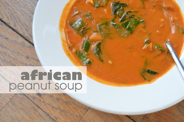 African Peanut Soup Recipe — Dishmaps