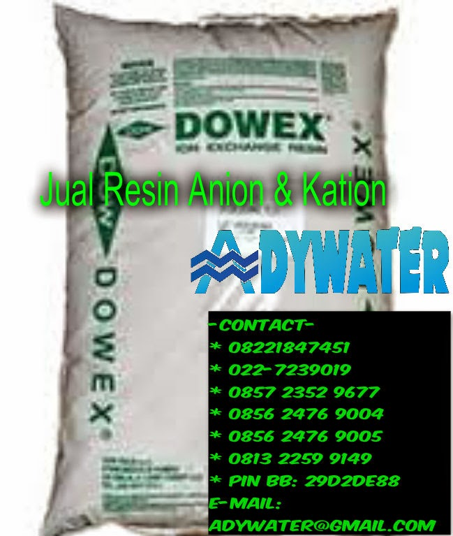 Jual Resin Anion Kation - Jual Resin Dowex